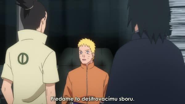 BORUTO 54: Sasuke a Boruto