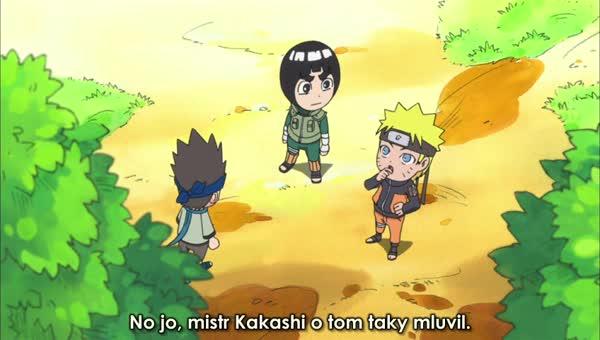 Naruto SD 05: Naučím Konohamaru Kenpo / Své šťastné spodky jsem si schoval na trénink