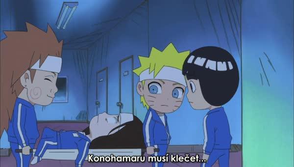 Naruto SD 11: Exkurze do bývalého hlavního města / Dívčí pokoje a krabice sladkostí - BORUTO.EU