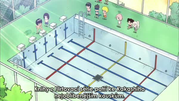 Naruto SD 15: Bazén se konečně otvírá / Extra veselý Orobazén