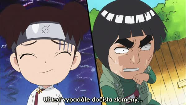 Naruto SD 16: Trojice válčících kuchařek / Čas umírnit mistra Gaie! - BORUTO.EU