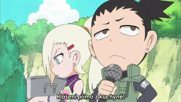 Naruto SD 16: Trojice válčících kuchařek / Čas umírnit mistra Gaie! - NARUTO-SHIPPUDEN.EU