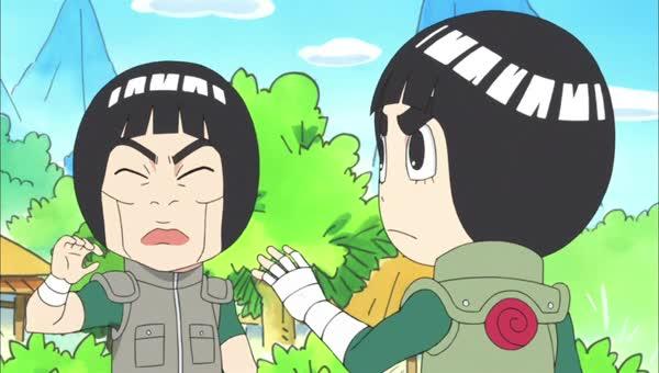 Naruto SD 20: Chci být Gaarův kamarád / Rock Leeho dvojník útočí - NARUTO-SHIPPUDEN.EU