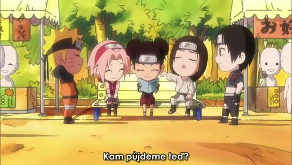 Naruto SD 24: Jsem Saiův nový agent! / Vyhraj srdce Tsunade! - BORUTO.EU