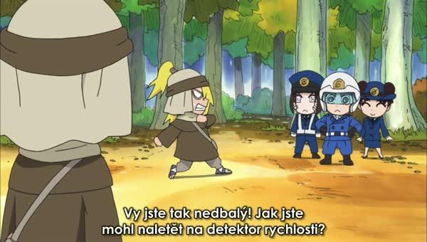 Naruto SD 30: Podzimní nindža lekce bezpečnosti! / Deidarovo umění je vždy výbuch!