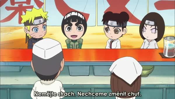 Naruto SD 34: Zachraňte Ichiraku rámen! / Dovolené jsou určené pro trénování!