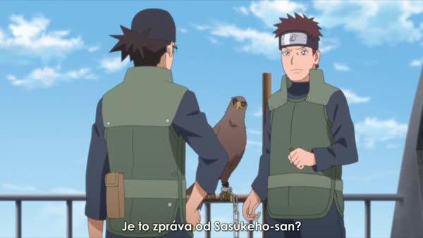 BORUTO 120: Směr Sasuke
