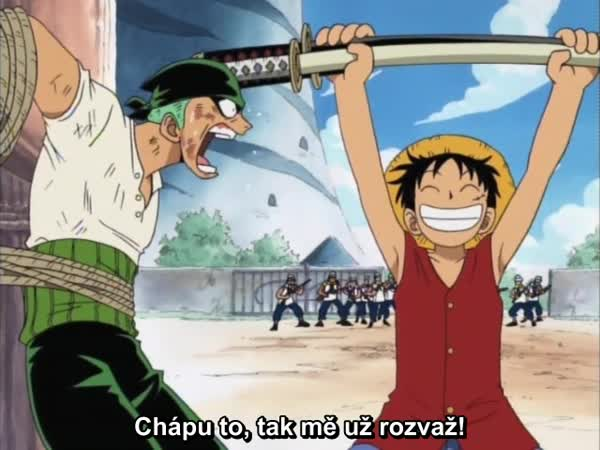 One Piece 003: Morgan proti Luffymu! Kdo je ta krásná dívka?
