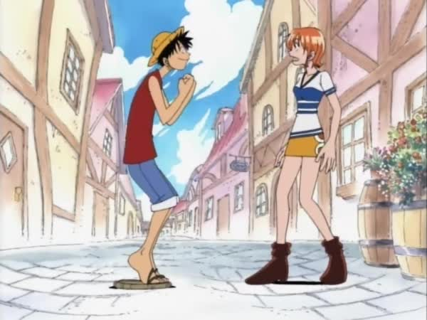 One Piece 005: Strach, tajemná síla! Pirátský klaun, kapitán Buggy!