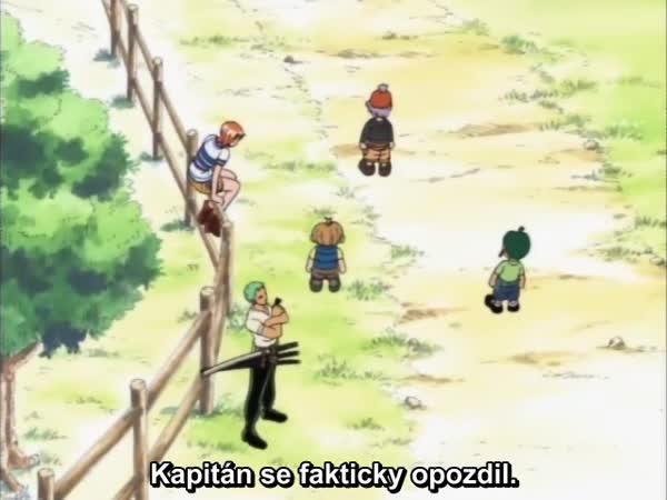 One Piece 011: Odhalení spiknutí! Pirátský správce, kapitán Kuro!