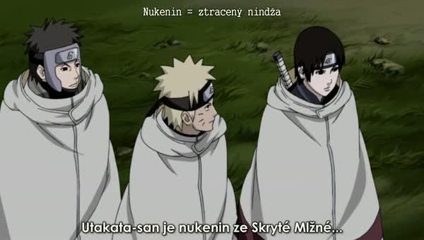 Naruto Shippuuden 147: Minulost ničemného ninji