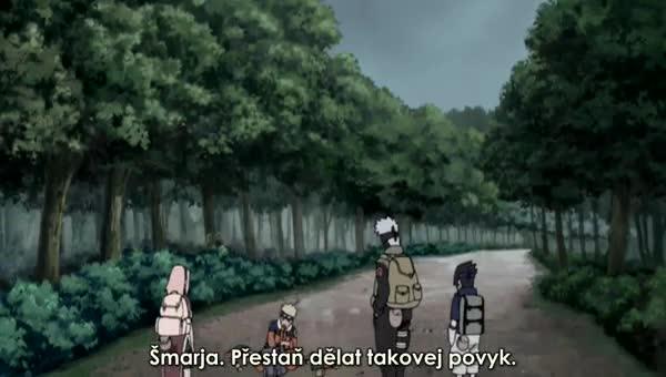 Naruto Shippuuden 180: Inariho odvaha vystavena zkoušce
