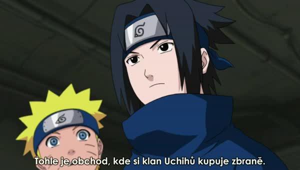 Naruto Shippuuden 189: Sasukeho encyklopedie tlapek