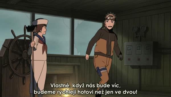 Naruto Shippuuden 225: Prokletá loď duchů - BORUTO.EU