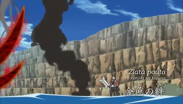 Naruto Shippuuden 270: Zlaté duhopisy